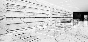 Saint Laurent Store Re-opens