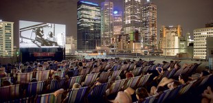 Rooftop Cinema: Down Under's over the top viewing experience